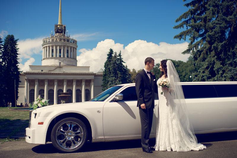 кортеж на свадьбу в Киеве - фото