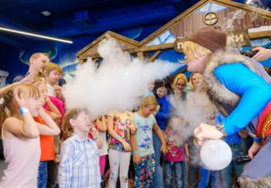 научные шоу для детей