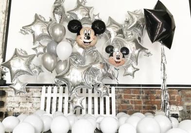оформление шарами детский праздник