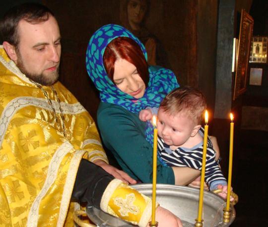 организация крестин ребенка