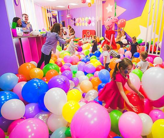 Шоу шаров для детей