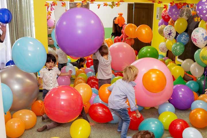 шоу шаров на детский праздник купить