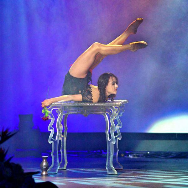 Надя Васина гимнастка